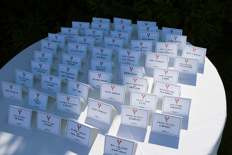 lobster escort cards