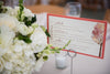autumn wedding menu