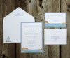 Harbor View Wedding Invitation