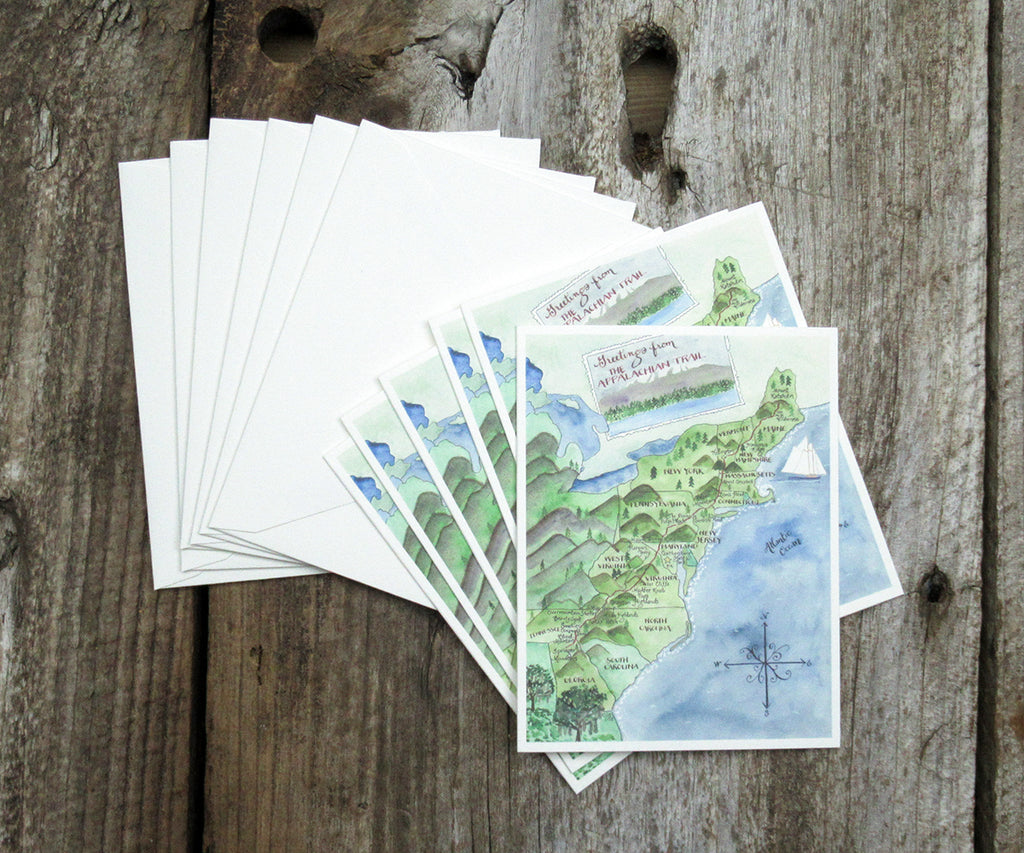 Appalachian Trail Note Cards