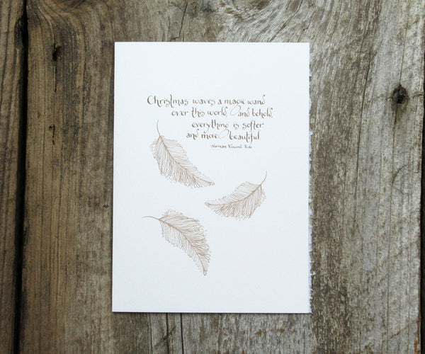 Christmas Quote Card SALE