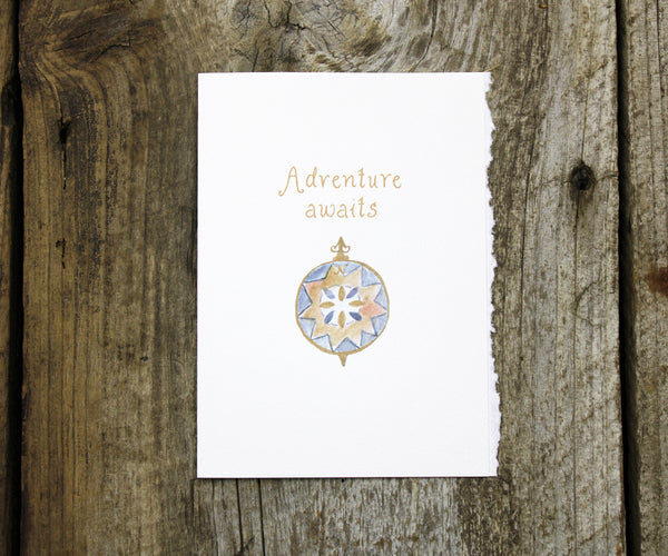 Compass Adventure Card