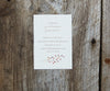 Maple Leaves Wedding Invitation