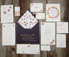 Foliage Trees Wedding Invitation