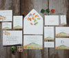 Mountain in Autumn Favor Tags