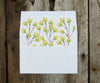 Yellow Flowers Envelope Liner