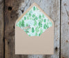 Pine Tree Envelope Liner