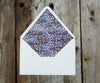 Purple Envelope Liner
