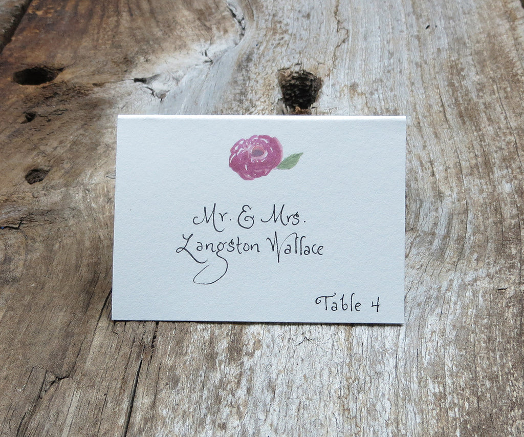 Carie Escort/Place Card
