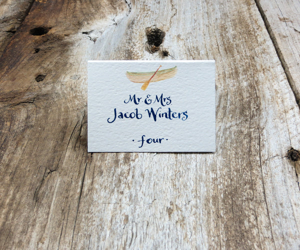 Camp Escort/Place Card