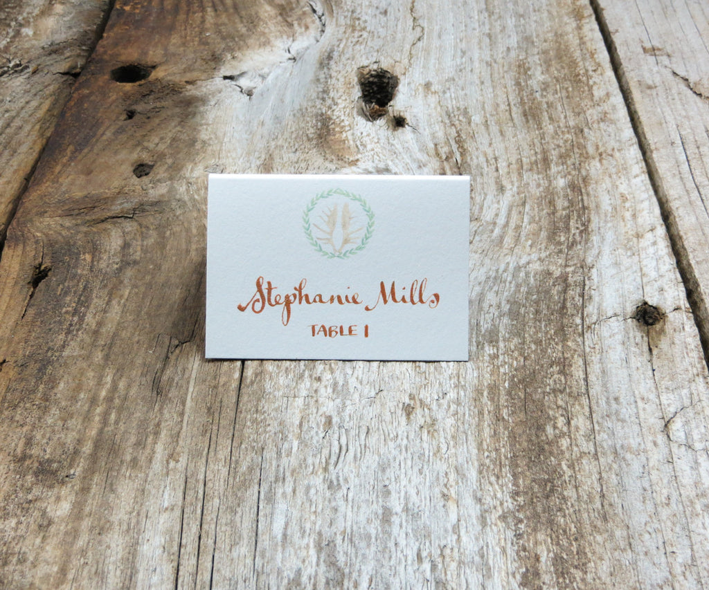 Antler Wreath Escort/Place Card