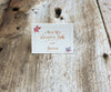 Maple Leaves Escort/Place Card