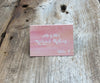 Sunset Sky Escort/Place Card