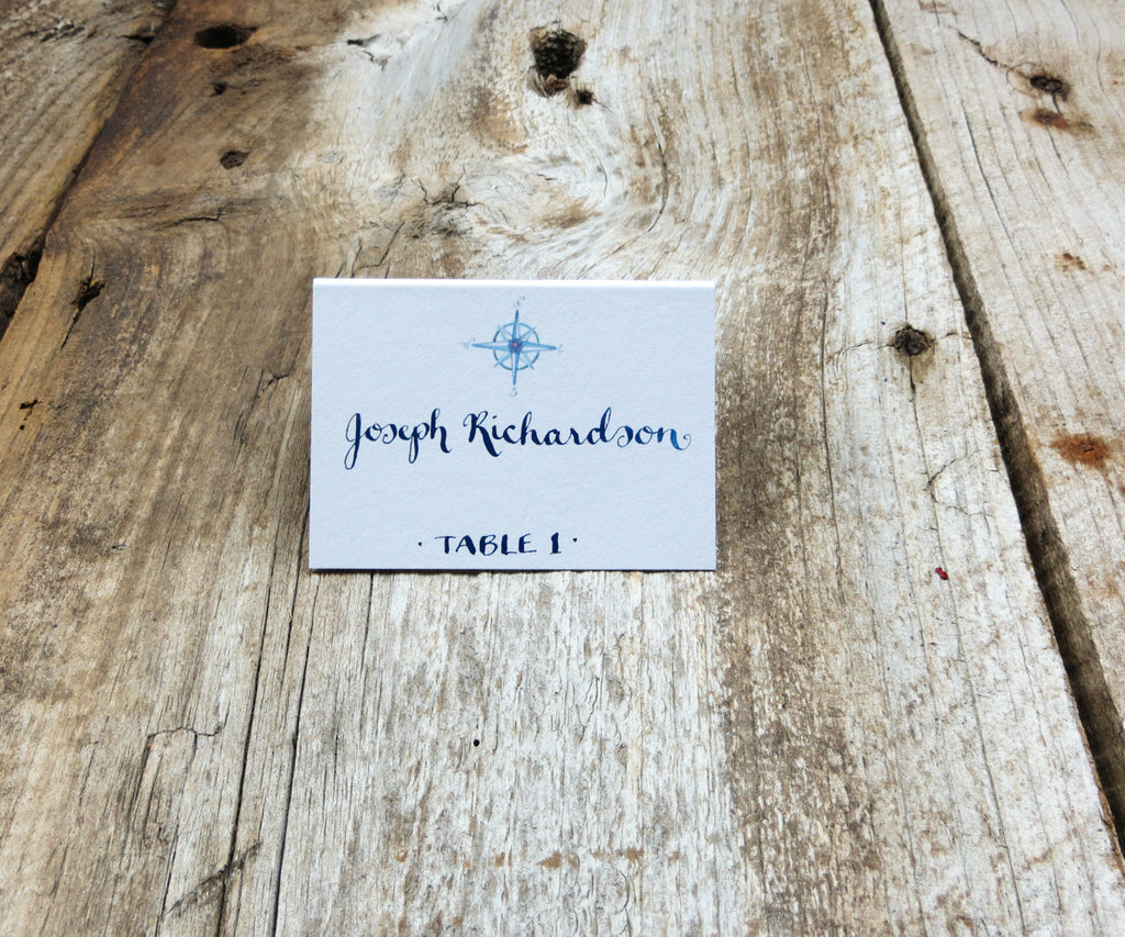 Nautical Rope Escort/Place Card