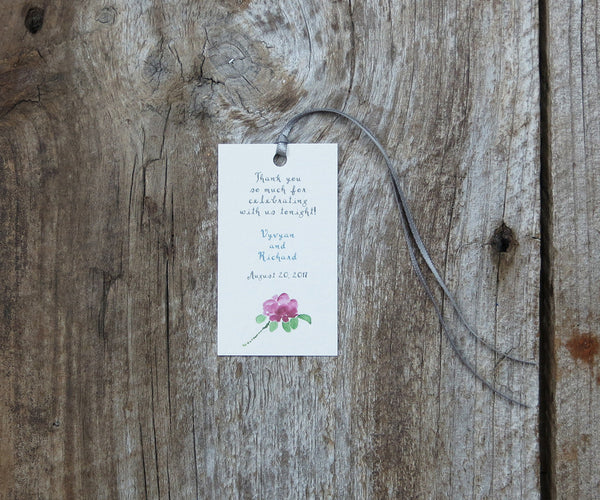 Salty Air Border Favor Tags