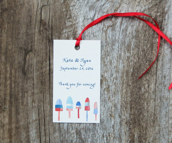 Lobster Hut Favor Tags