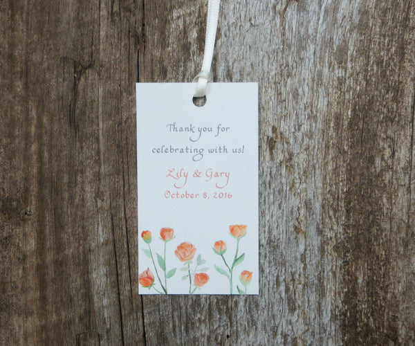 Succulents Favor Tags