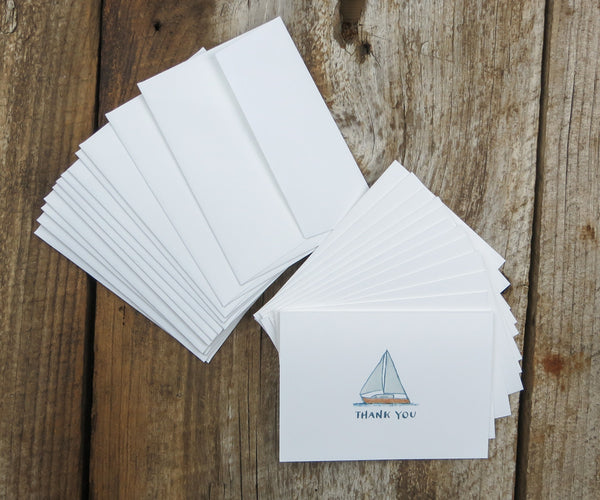 Sailboat Thank You Notes