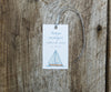 Summer Sailboat Favor Tags
