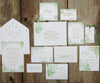 Flourishing Greens Wedding Thank You Notes