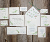 Pine Bough Wedding Thank You Notes
