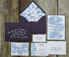 Mussel Shell Wedding Invitation