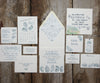 Square Oyster Shell Favor Tags