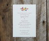 Pears Wedding Invitation