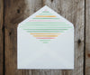 Striped Envelope Liner