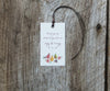 Fruits & Flowers Favor Tags