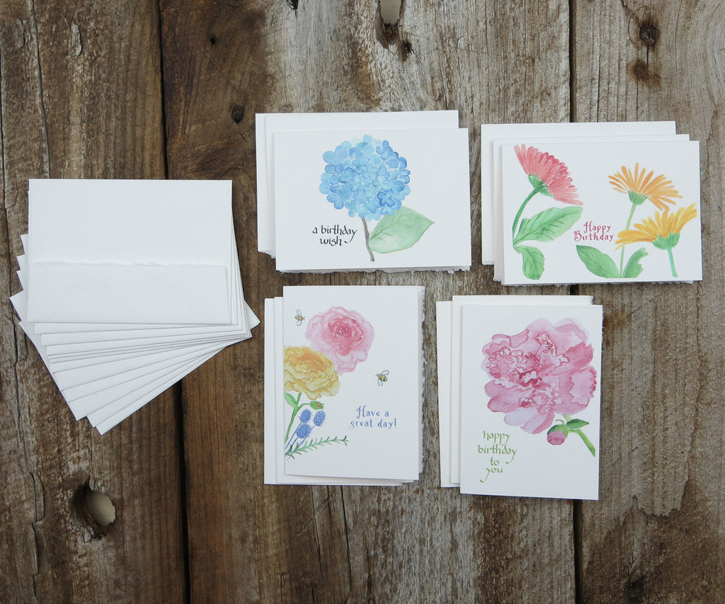 Birthday Flowers Notes