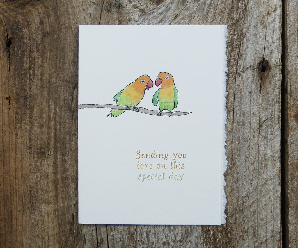 Lovebirds Card