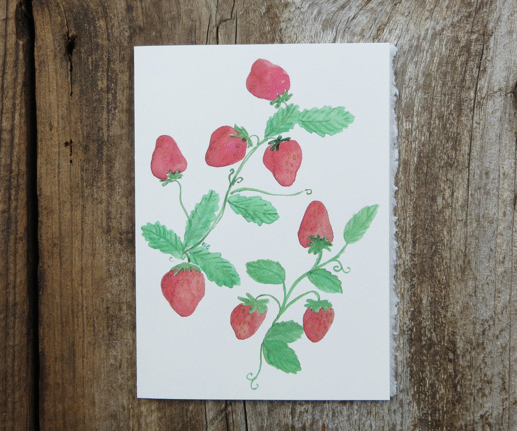 Sweet Strawberries Card