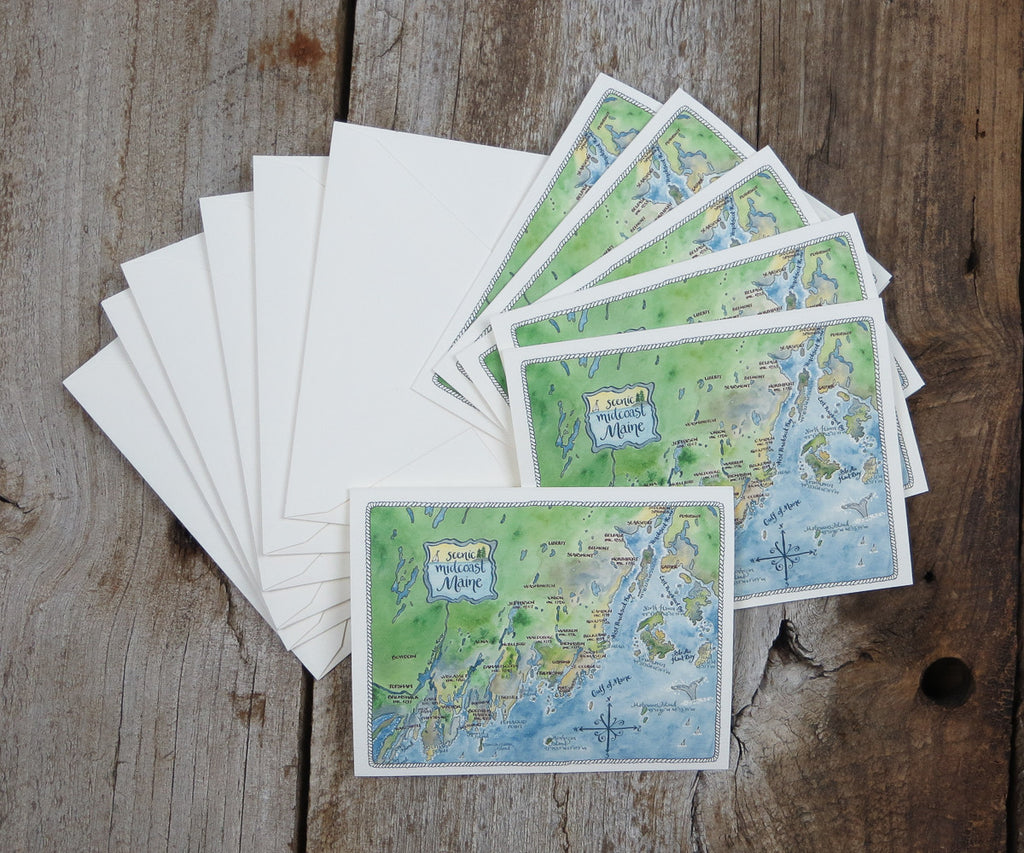 Midcoast Maine Note Cards