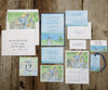 Bay View Wedding Thank You Notes