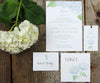 White Hydrangea Escort/Place Card