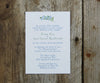 Blueberries Wedding Invitation