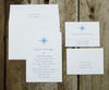 Compass Rose Wedding Invitation