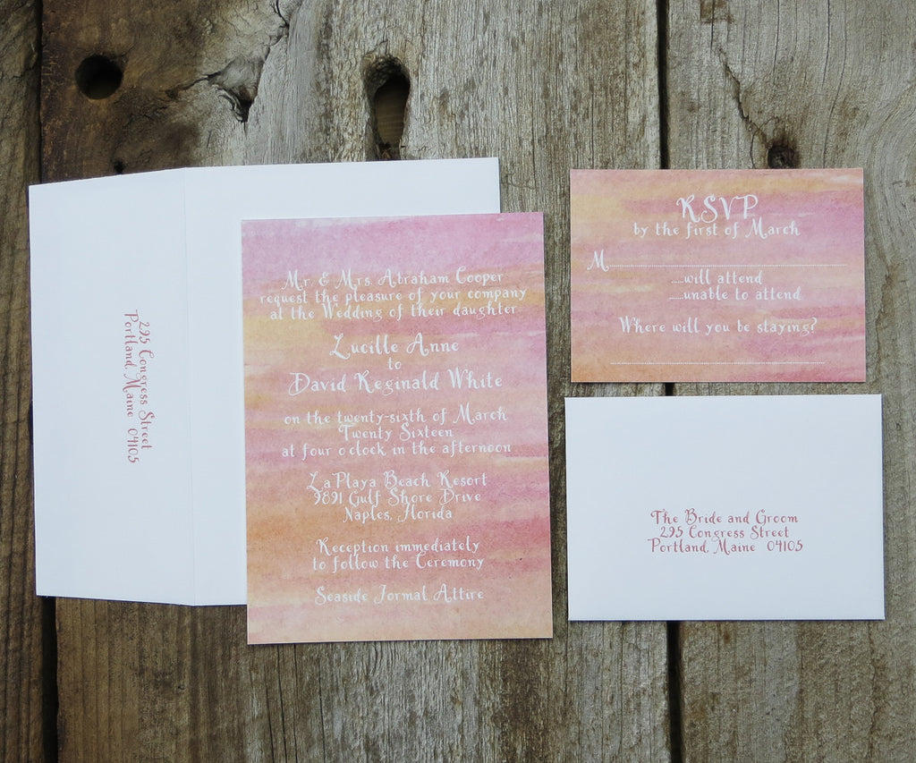 Hombre Wedding Invitation