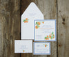 Oranges Wedding Invitation
