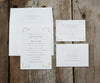 Flourishes Wedding Invitation