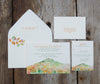 Mountain in Autumn Wedding Invitation