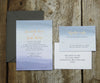 Purple Hombre Wedding Invitation