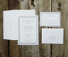 Double Border Wedding Invitation