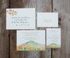 New Hampshire Mountain Wedding Invitation