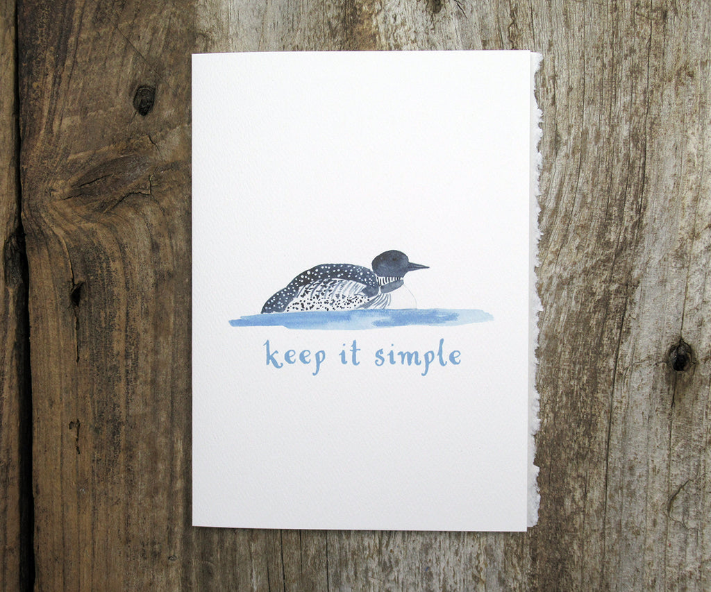 Loon Recovery Card