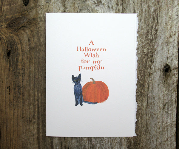 My Pumpkin Card