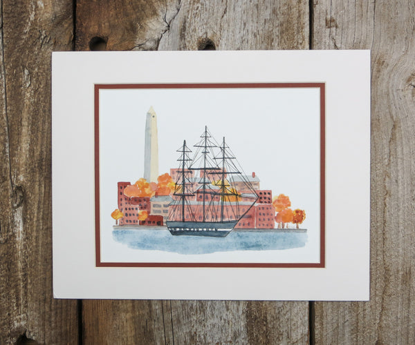 Charlestown Harbor Print