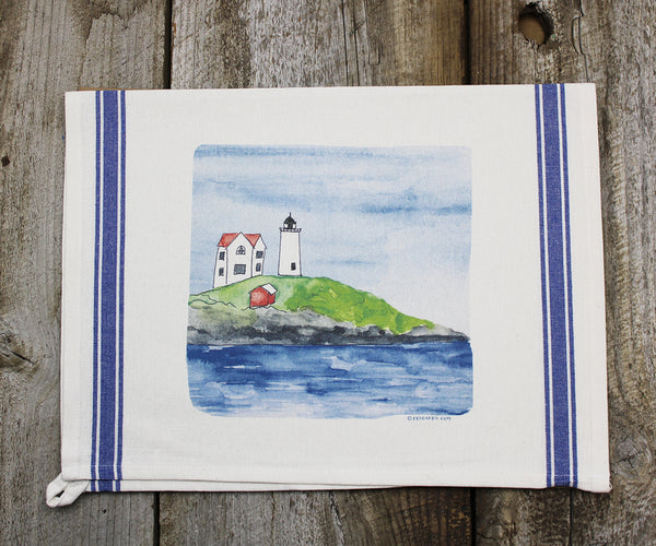 Nubble Light Vintage Tea Towel