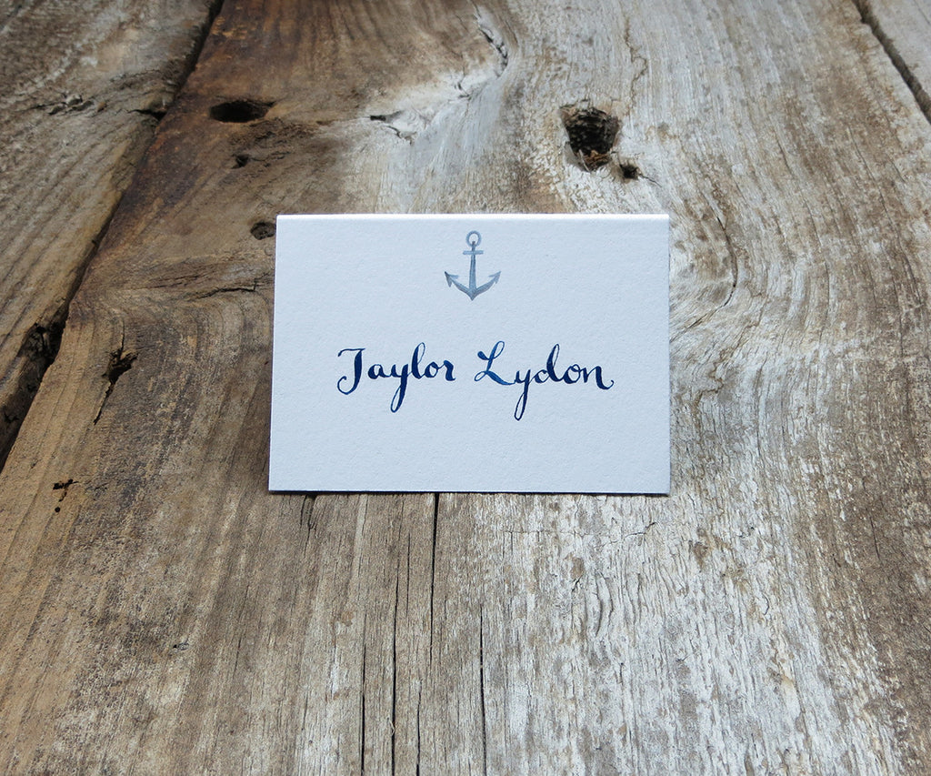 Anchor Escort/Place Cards